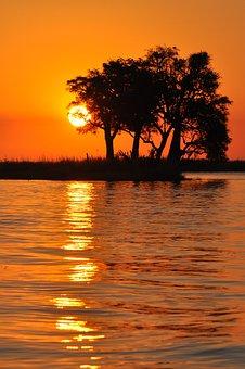 Sunset, Dawn, Dusk, Sun, Water, Evening, Nature