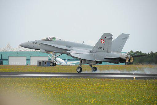 Aircraft, Airport, Military, F18, Fighter Aircraft