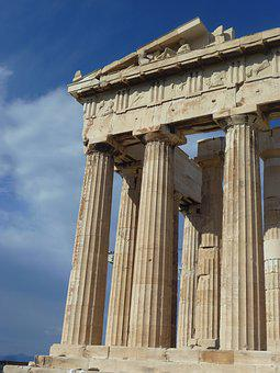 Column, Architecture, Ancient, Acropolis, Parthenon
