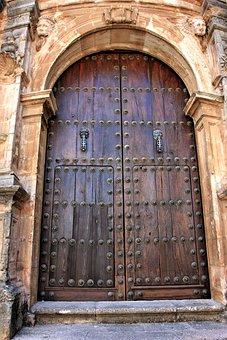 Architecture, Old, Building, Door, Input, Goal, Wood