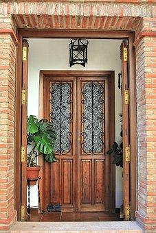 Wood, Door, Home, Input, Architecture, Old, Building