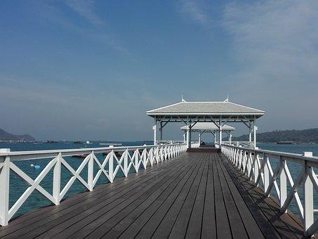 Koh Sichang, Beach, Sunrise, Sea View, Sea