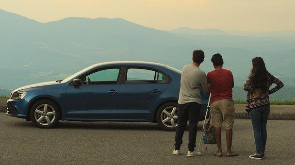 Car, Vehicle, People, Outdoors, Travel, Man