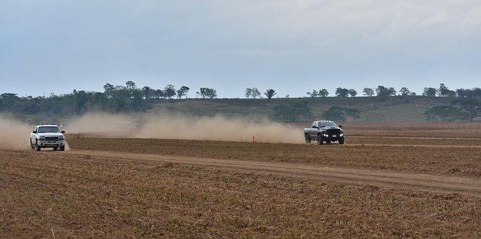 Country, Drag Race, Pickup Trucks, Power, Speed, Field