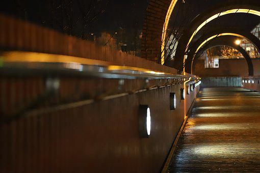 Alley, Dark Way, Mysterious, Caution, Evening, Walk