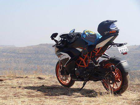 Bike, Hurry, Motorbike, Biker, Adventure