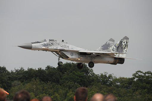 Aircraft, Military, Jet, Flew, Mig29, Fighter Jet
