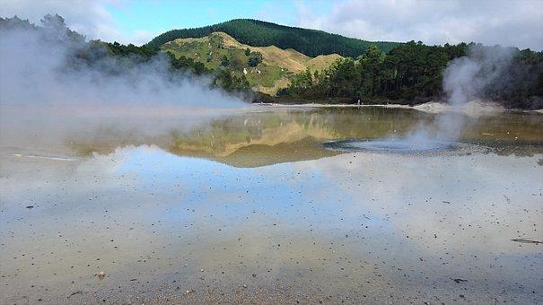 Water, Landscape, Nature, Travel, Scenic, Panoramic