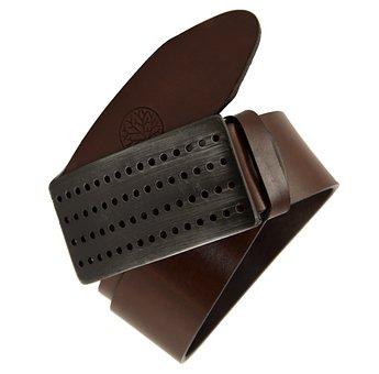 Waist Belt For Women, Leather Strap, Belt Brown
