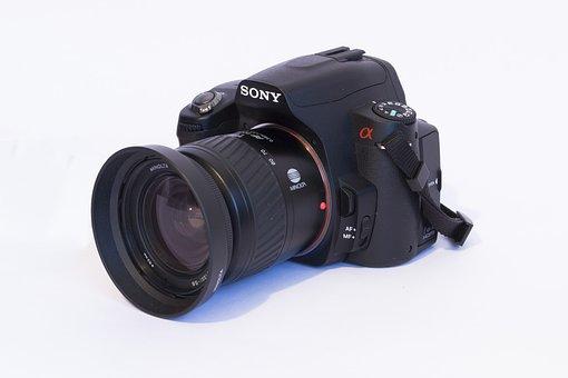 Lens, Zoom, Shutter, Opening, Isolated, Team