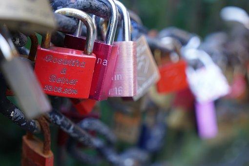 Padlock, Security, Love