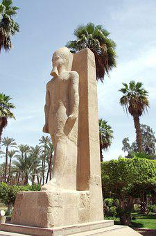 Egypt, Memphis, Ramses, Pharaoh, Sculpture, Statue