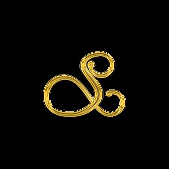 Letter, Litera, Monogram, Ornament, Letters