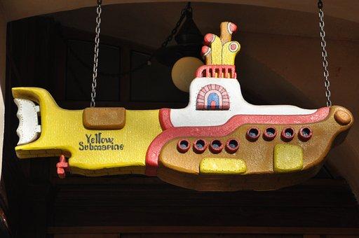 Beatles, Music, Yellow Submarine, Prague, Musician