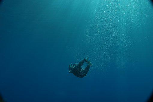 Underwater, Sea, Water, Nature, Ocean, Diving