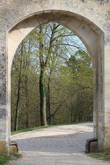 Road, Outdoor, No Person, Travel, Tree, Door, Castle