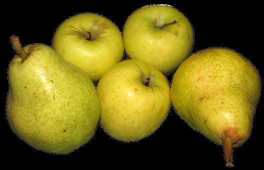 Apples, Pears, Fruit, Organic, Food