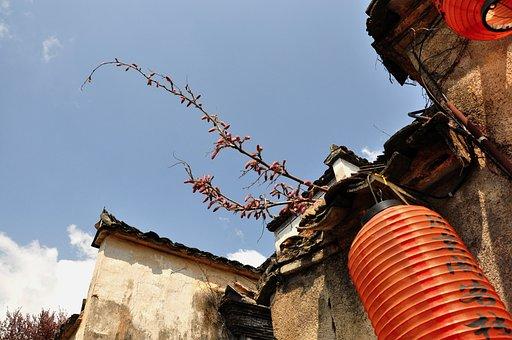 Sky, Tree, Outdoor, Tourism, Hongcun Village, House