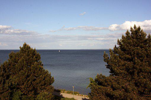Nature, Panorama, Sky, Landscape, Boot, Sail