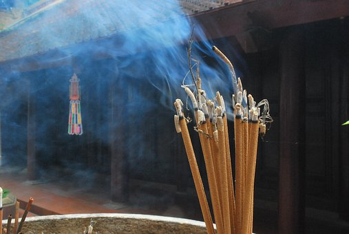 Incense, Incense Sticks, Prayers, Religion, Chinese