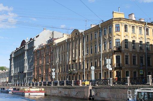 St Petersburg Russia, Russia, Architecture, Megalopolis