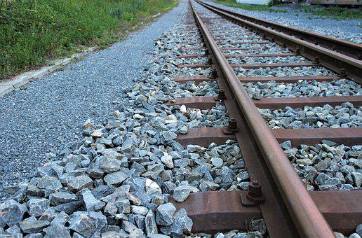 Rail, Stones, Railway Line, Railway, Train, Race Track