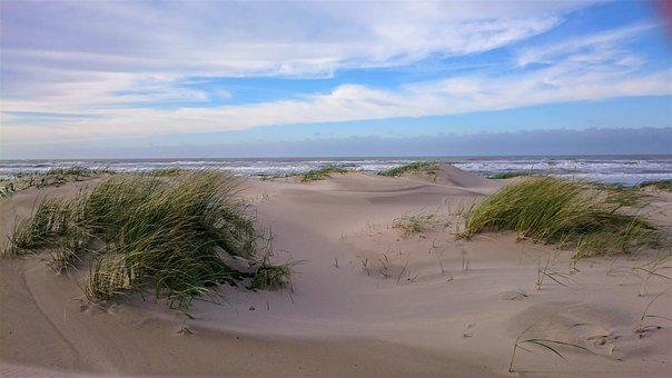 Sand, Nature, Sky, Landscape, Waters, Sea, Summer