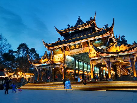 Temple, Pagoda, Travel, Buddha, Culture, China, Chinese