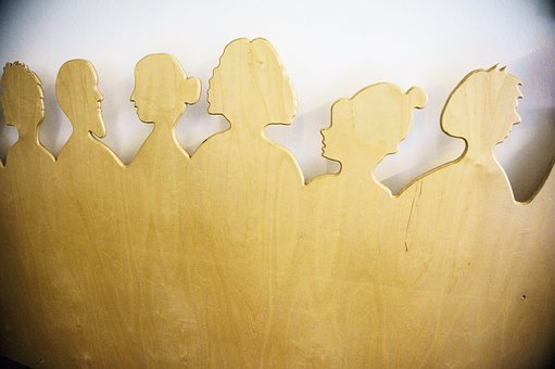 Background, Heads, Head, Abstract, Upper Body, Design