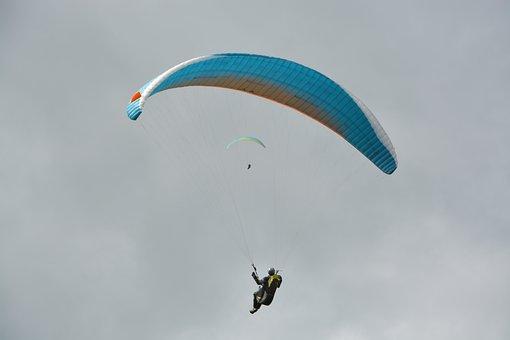 Paragliding, Free Flight, Wing Paragliding