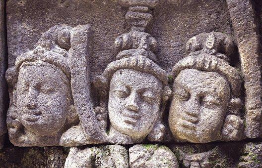 Sculpture, Borobudur, Ancient, Religion, Temple, Asia