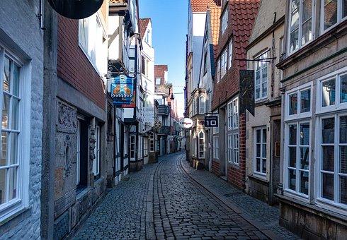 Bremen, Schnoor, Old Town, Bremen Schnoor, Tourism
