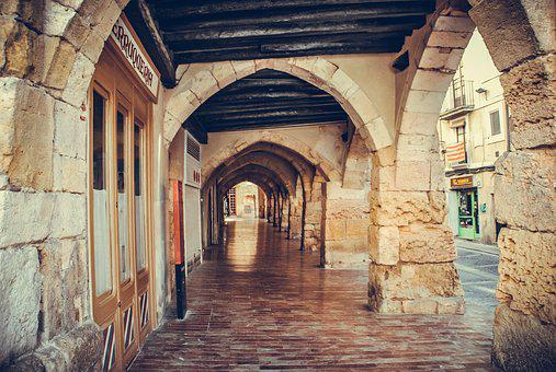 Architecture, Travel, Old, Building, Gothic, Tarragona