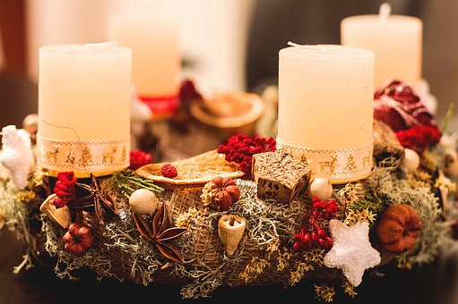 Candle, Ornament, Luxury, Ease, Celebration, Christmas