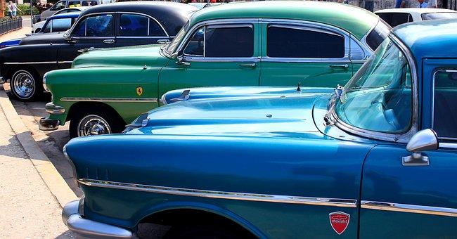 Auto, Car, Old, Cuba, Retro Car, The Vehicle