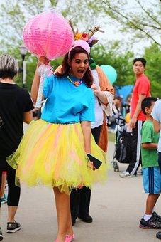 People, Festival, Fun, Dancing, Celebration, Woman