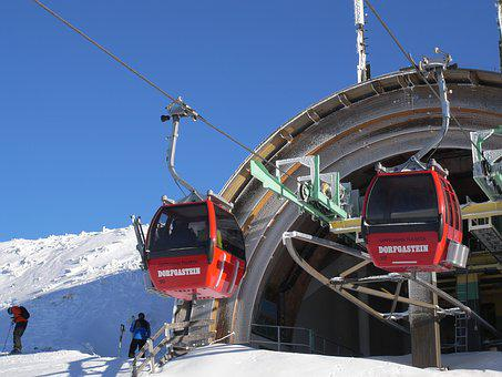 Snow, Winter, Cold, Transport System, Elevator