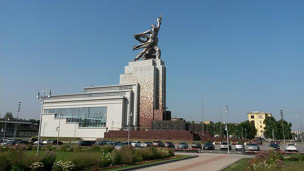 Moscow, Enea, The Ussr, Monument, Architecture, Travel