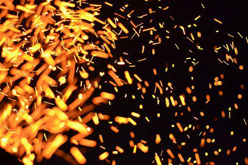 Desktop, Abstract, Fire, Light, Splash, Sparkle, Spark