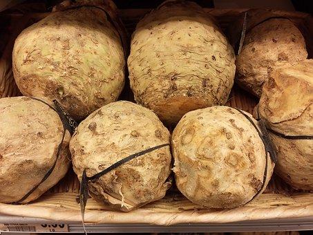 Food, Root, Vegetable, Celery, Fresh, Healthy, Natural
