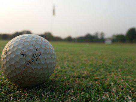 Golf, Course, Hole, Ball, Golfer
