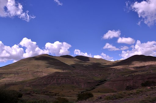Lesotho, Africa, Landscape, Mountain, Nature, Travel