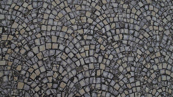 Model, Mosaic, Texture, Stone, Abstract, Old, No One