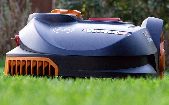 Robot Mower, Robot, Autonomous, Mow, Grass, Lawn Mower