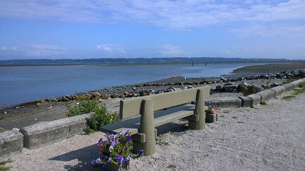 Water, Sea, Seashore, Beach, Travel, Beach Chair