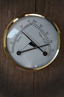 Thermometer, Hygrometer, Instrument, Temperature