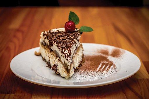 Dessert, Desserts, Tiramisu, Food, Sweet, Restaurant
