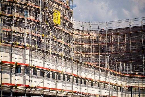 Construction, Site, Construction Work, Building, Work