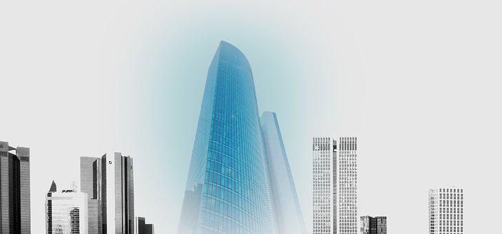 Architecture, Large, Glass, City, Contemporary