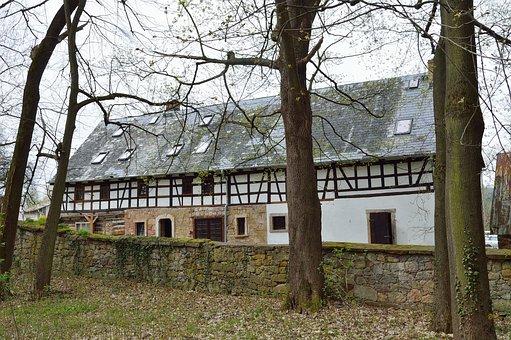 Architecture, Old, House, Przysłupowo Half-timbered